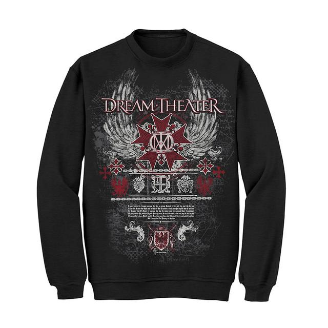 Dream Theater Winged Majesty Crewneck Sweatshirt