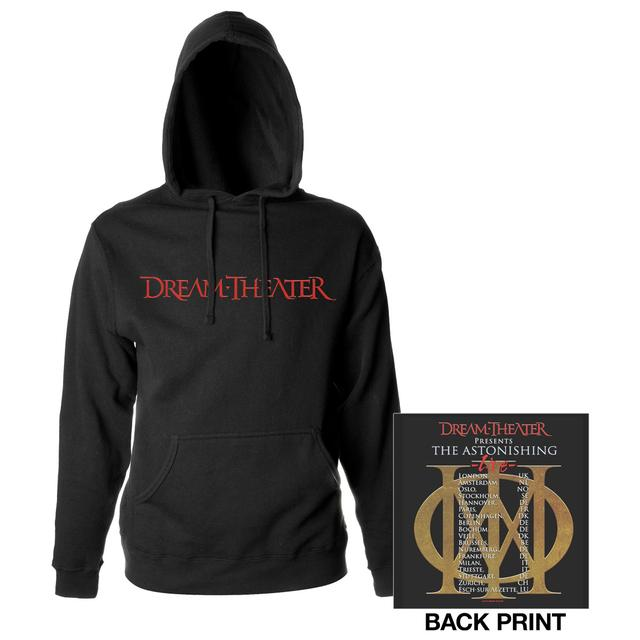 Dream Theater Astonishing Live 2016 Euro Tour Hoodie