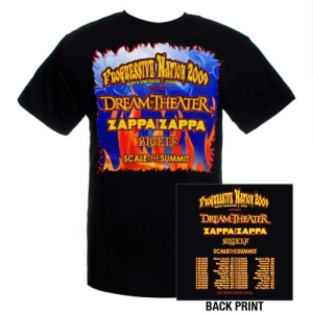 Dream Theater Progressive Nation Tour Tee