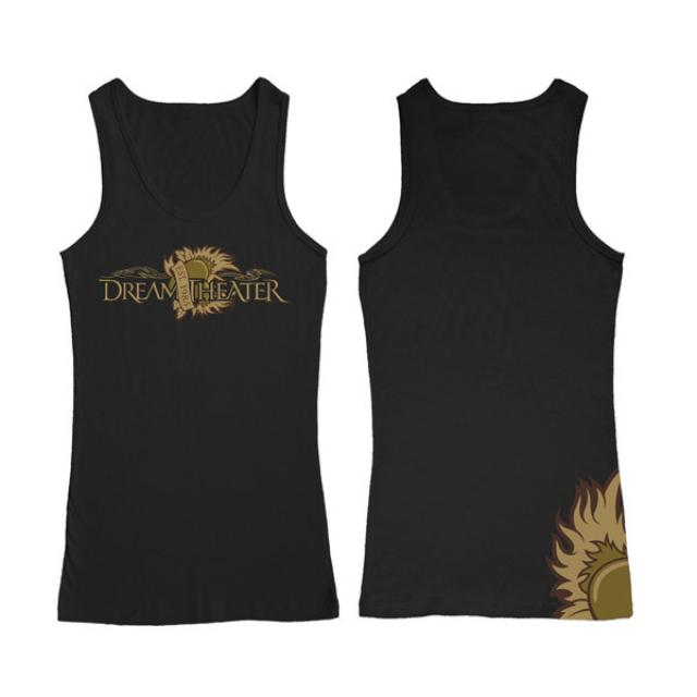 Dream Theater Tattoo Heart Ribbed Women's Tank