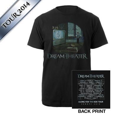Dream Theater Looking Glass I Euro Tour Tee