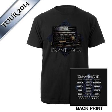 Dream Theater Enigma Machine EU Tour Tee