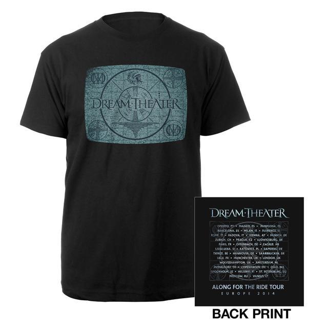 Dream Theater Looking Glass II Euro Tour Tee