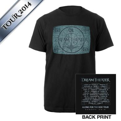 Dream Theater Looking Glass II EU Tour Tee