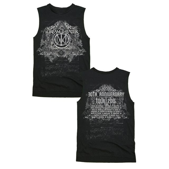 Dream Theater 30th Anniversary Tour Muscle T-Shirt