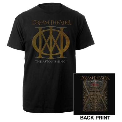 Dream Theater Playing Card 2016 Euro Tour Tee
