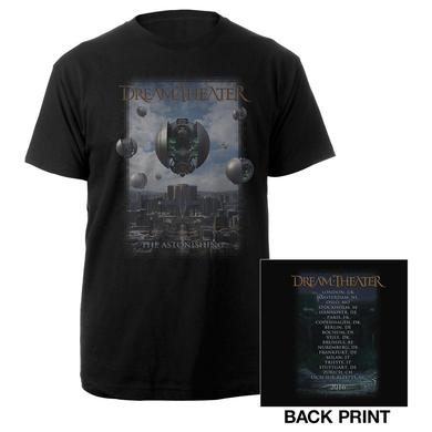 Dream Theater The Astonishing Album Cover 2016 Euro Tour Tee