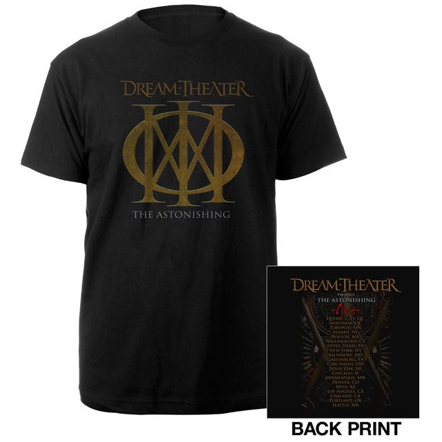Dream Theater Playing Card 2016 US Tour Tee