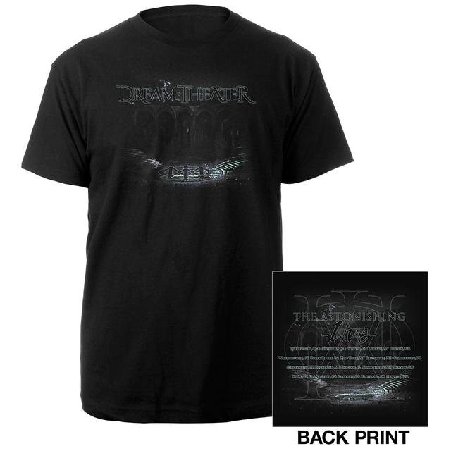 Dream Theater Amphitheater 2016 US Tour Tee
