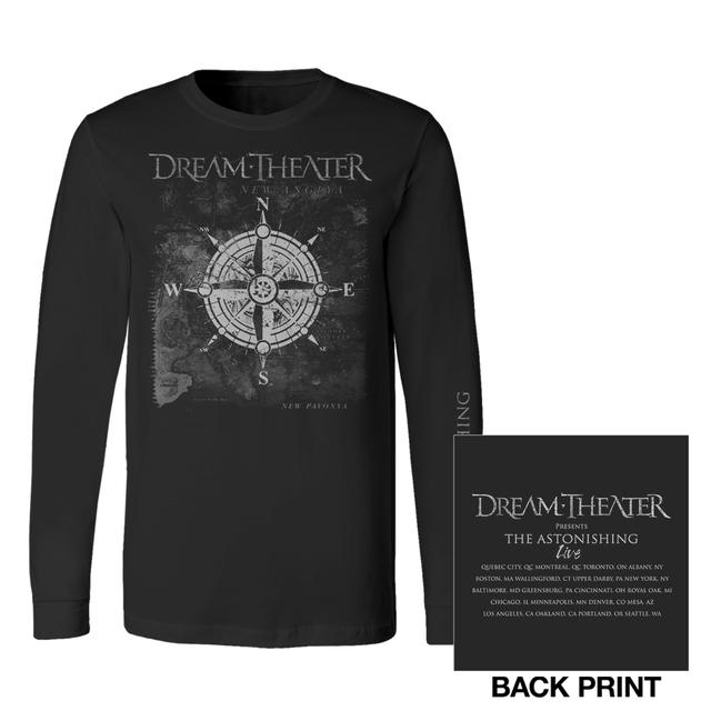 Dream Theater Compass Long Sleeve 2016 US Tour Tee