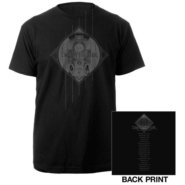 Dream Theater NOMAC Sketch 2016 US Tour Tee