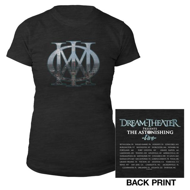 Dream Theater Women's Majesty 2016 US Fall Tour Burnout Tee