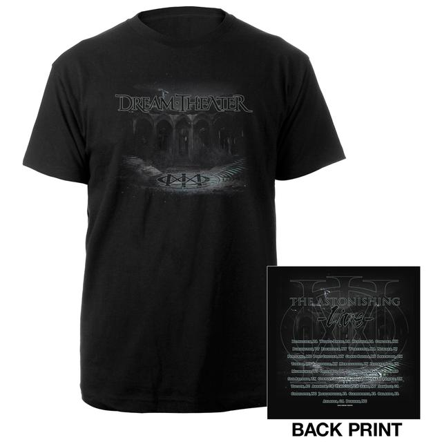 Dream Theater Amphitheater 2016 US Fall Tour Tee