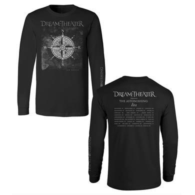 Dream Theater Compass Long Sleeve 2016 US Fall Tour Tee