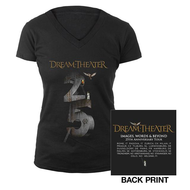 Dream Theater Images And Words Tour : dream theater women s images and words 25th anniversary 2017 eu tour tee ~ Russianpoet.info Haus und Dekorationen