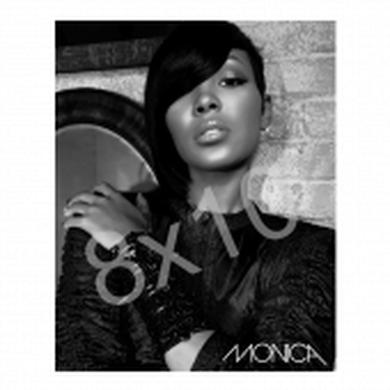 Monica 8x10- Black and White photo-- Available Autographed! -