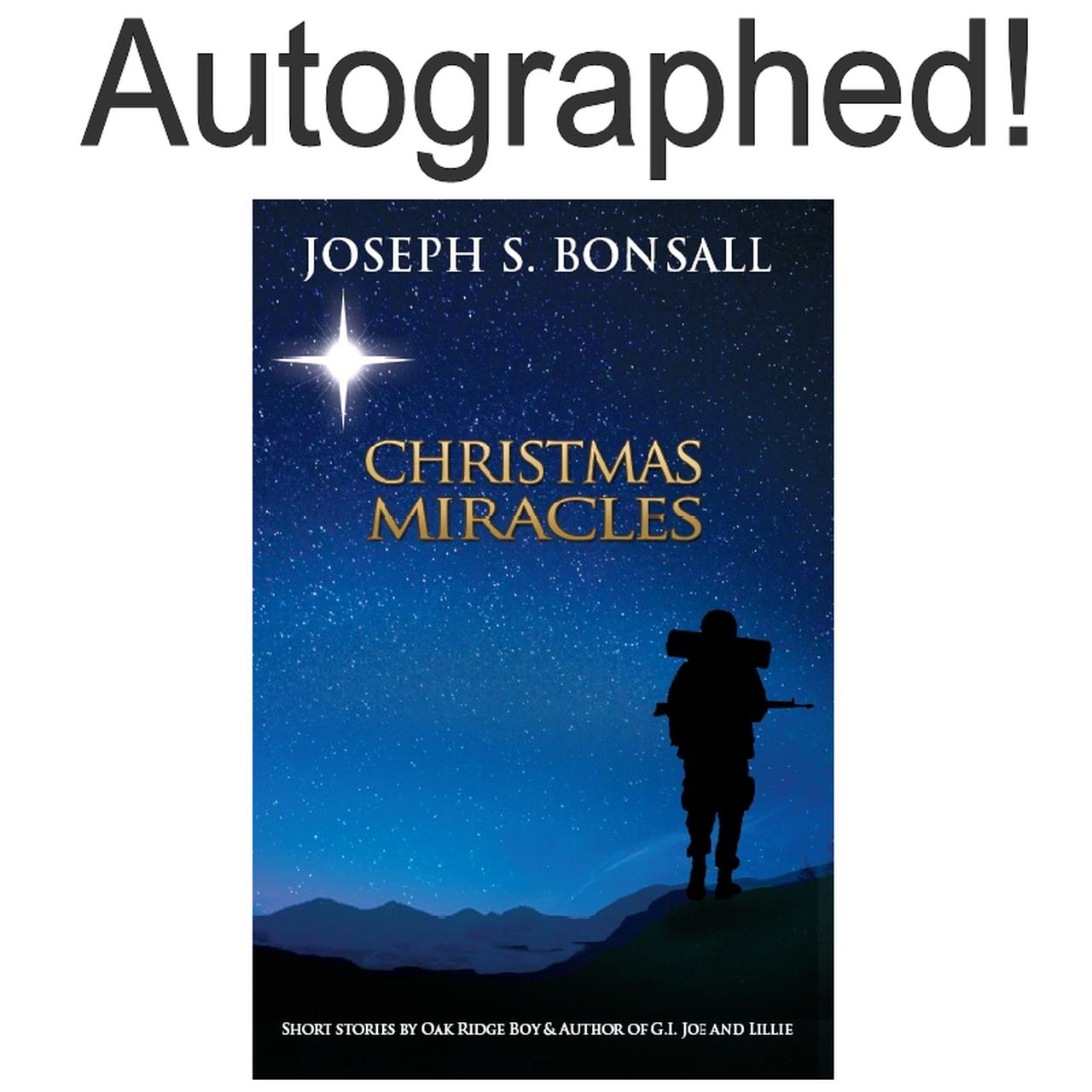 Oak Ridge Boys AUTOGRAPHED Book- Christmas Miracles Volume II