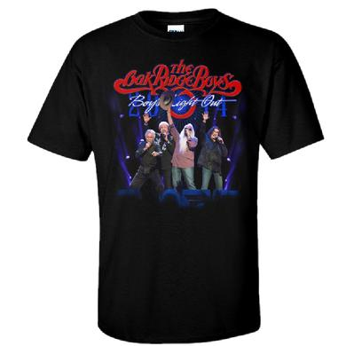 Oak Ridge Boys Boy's Night Out Black Tee