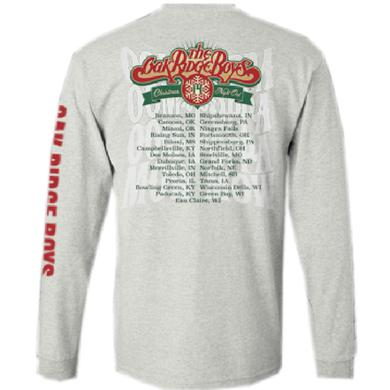 Oak Ridge Boys Long Sleeve Ash Christmas Tee