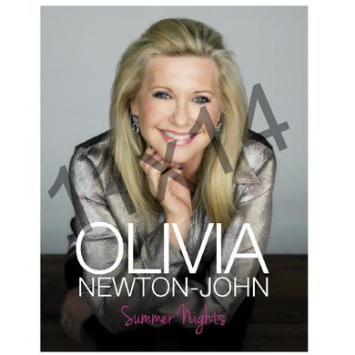 Olivia Newton John Olivia Newton-John Deluxe Tour Program- Summer Nights