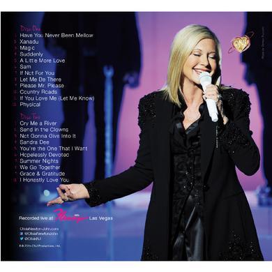 Olivia Newton John Olivia Newton-John CD- Live in Vegas
