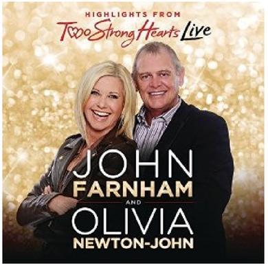 Olivia Newton-John CD- Two Strong Hearts LIVE