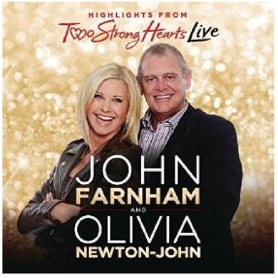 Olivia Newton John Olivia Newton-John CD- Two Strong Hearts LIVE