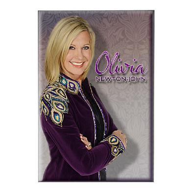 Olivia Newton-John Magnet- Purple Jacket