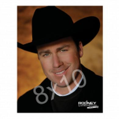Rodney Carrington 8x10- Black Hat