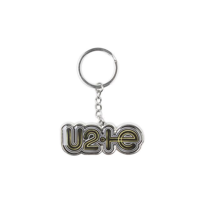 U2 Innocence + Experience Tour Logo Outline Keyring