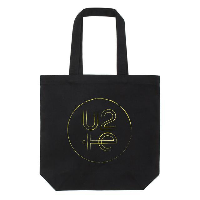 U2 Innocence + Experience Tour Logo Tote Bag