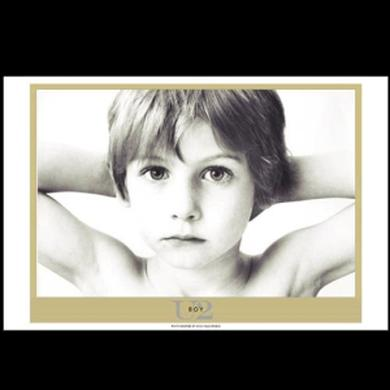 U2 Boy Album Lithograph