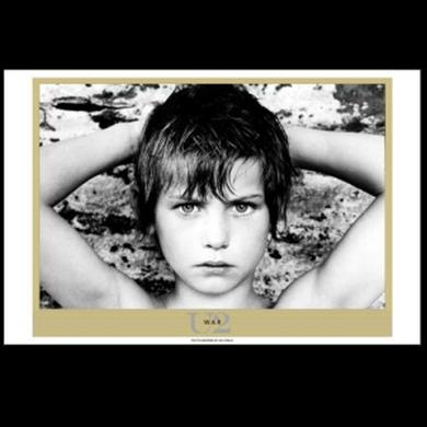U2 War Album Lithograph