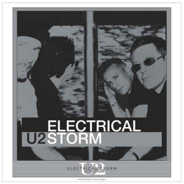 "U2 The Single Collection """"ELECTRICAL STORM"""" Lithograph"