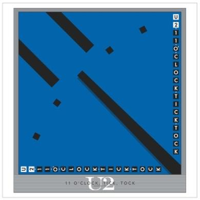 "U2 The Single Collection """"11 O'CLOCK TICK TOCK"""" Lithograph"