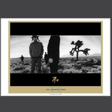 U2 The Joshua Tree Lithograph Series, Inner Album