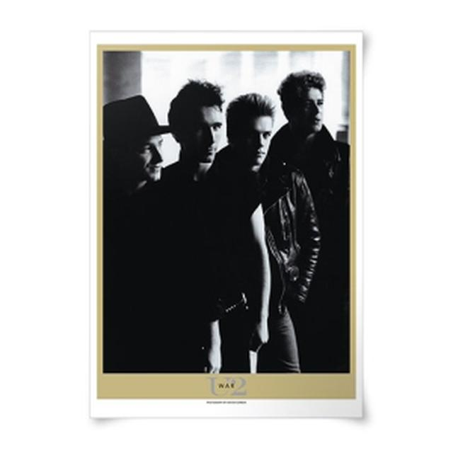 U2 'War' Album Lithograph