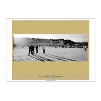 U2 No Line on the Horizon Lithograph Series, Fez, Morocco