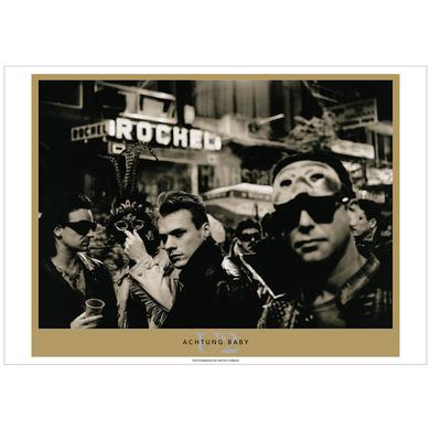 U2 Achtung Baby by Anton Corbijn.  Exclusive Limited Edition Lithograph Series