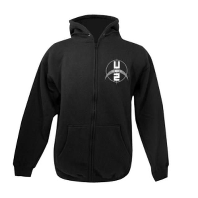 U2 Tour Logo Zip-Up Hoody