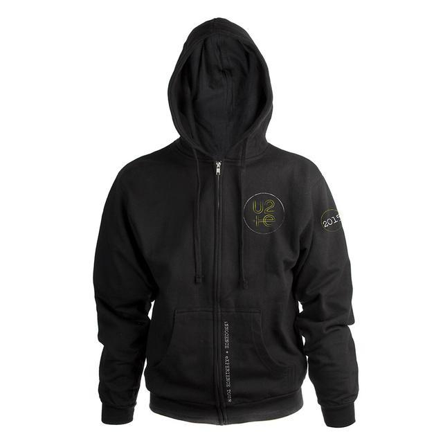 U2ie Tour Unisex Full Zip Hooded Sweatshirt*