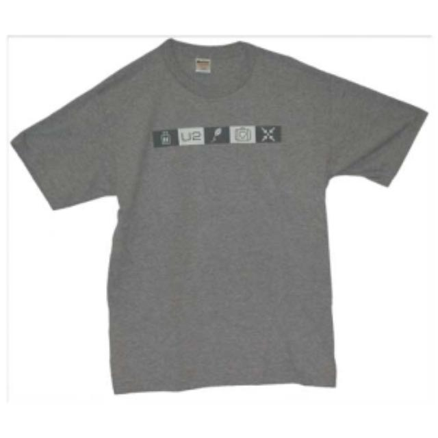 U2 5-Symbol Grey T-Shirt