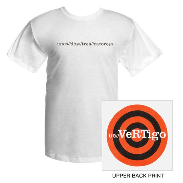 U2 Youth Vertigo T-shirt