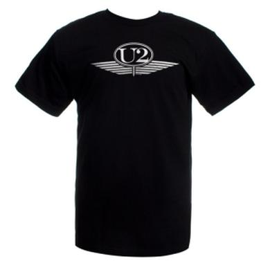 U2 Silver Wings Logo T-Shirt