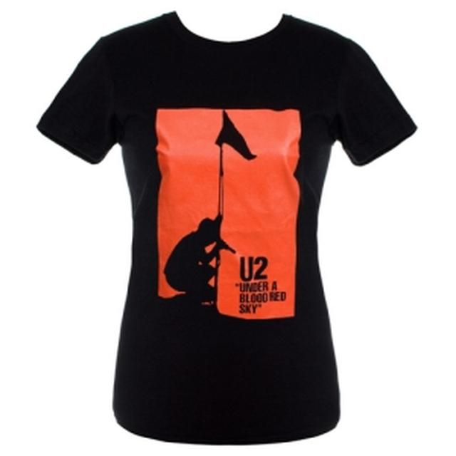 U2 Under A Blood Red Sky Girls Skinny Tee