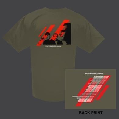 U2com Vertigo Shirt Aus/NZ Dates