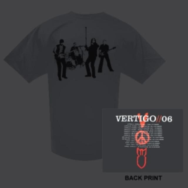 U2com Vertigo Shirt Aus/NZ Dates