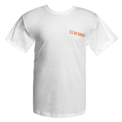 U2 'OCTOBER' Logo T-Shirt