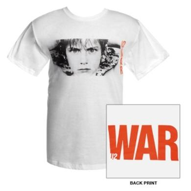 U2 'WAR' Album Cover T-Shirt (White)
