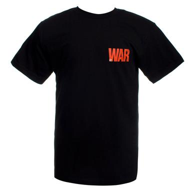 'U2 War' Logo T-Shirt (Black)